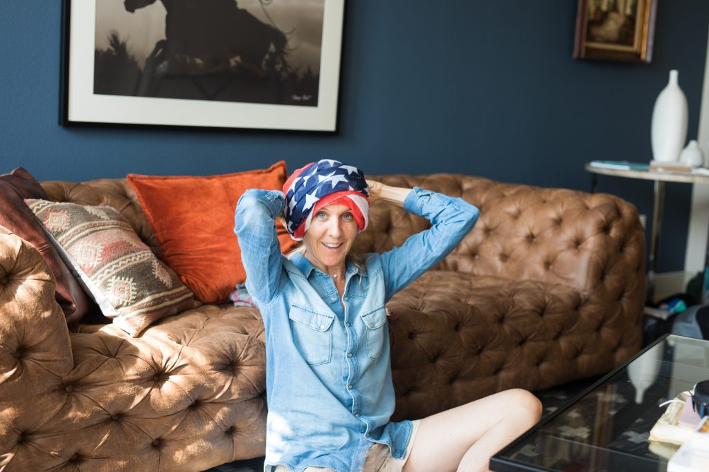 Delphine Remy passe une semaine à Houston avant de commencer sa chimiothérapie