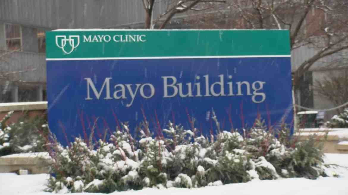 Mayo Clinic Mayo Building Sign
