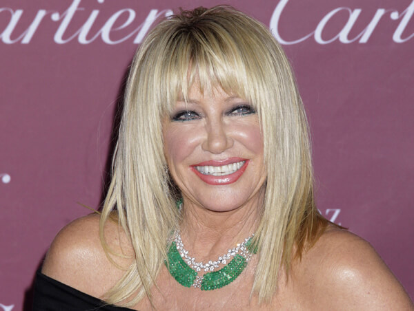 Image #: 34047535 Suzanne Somers arrives at the 2015 Palm Springs International Film Festival Awards Gala on January 3, 2015 in Palm Springs, California. Francis Specker /Landov