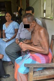 Sadhu Sadhu..patient practising meditation