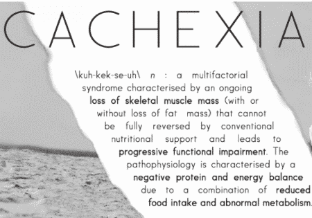 What is cachexia and how can you address it naturally