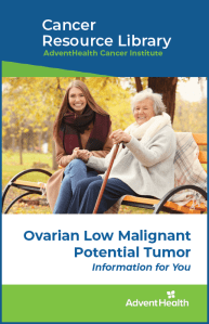 Ovarian low malignant potential tumor booklet cover