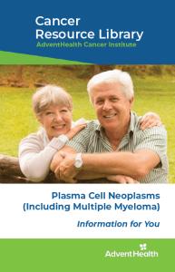 Plasma cell neoplasm