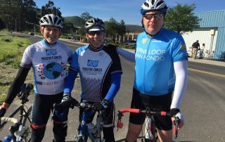 Cancer Journeys Foundation board members, Robert Warren Hess, Steven Kurtz, Scott Peterson