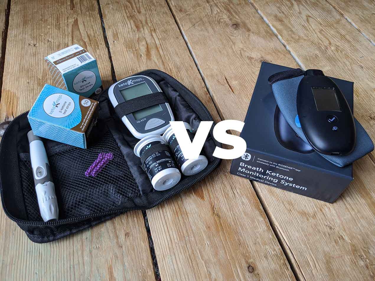 I had a chance to do a head to head test of the Keto Mojo blood ketone meter and the Biosense breath ketone meter during my recent 8-day water fast. O