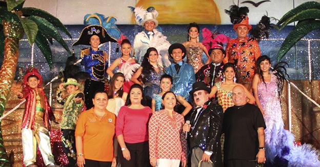 Reyes del carnaval Cozumel