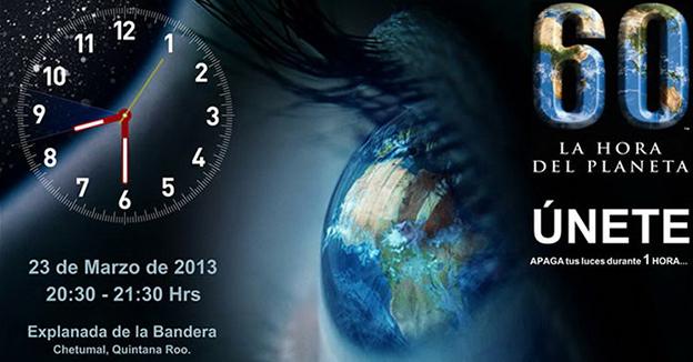 QR hora del planeta
