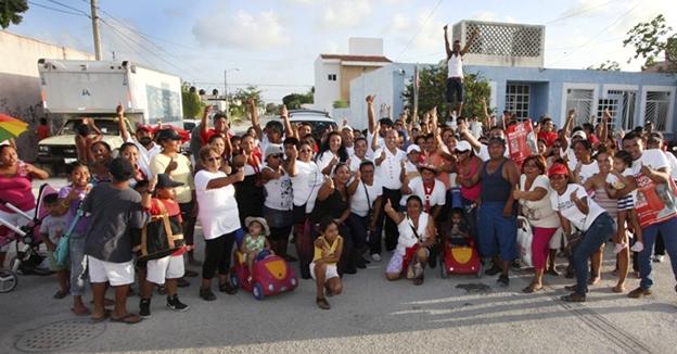 Mario Machuca familias
