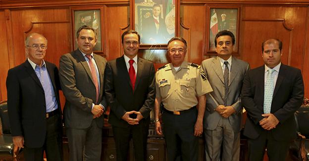 Paul Carrillo subsecretario de la Defensa Nacional