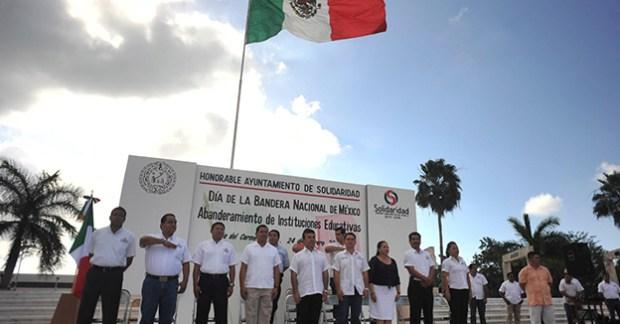 Solidaridad dia de la bandera