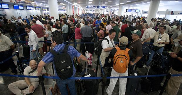 Aeropuerto-llegada