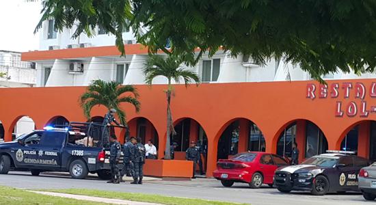 gendarmeria Cancún