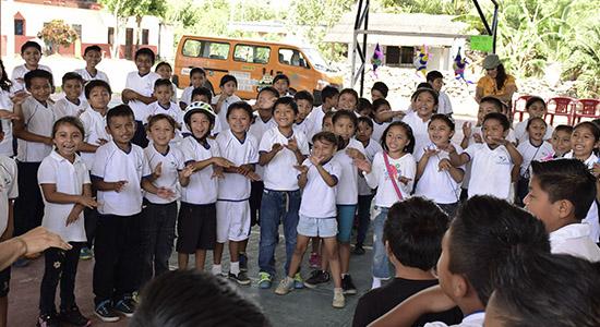 rally comunidades mayas