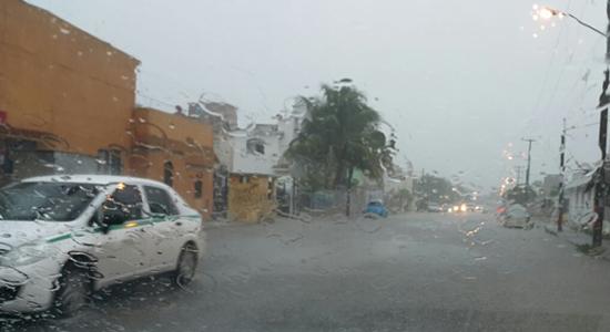 lluvias en cancun intensas