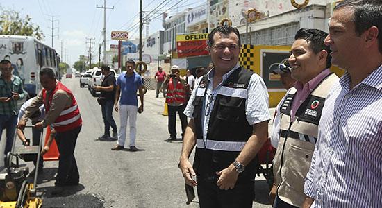 reparacion calles cancun