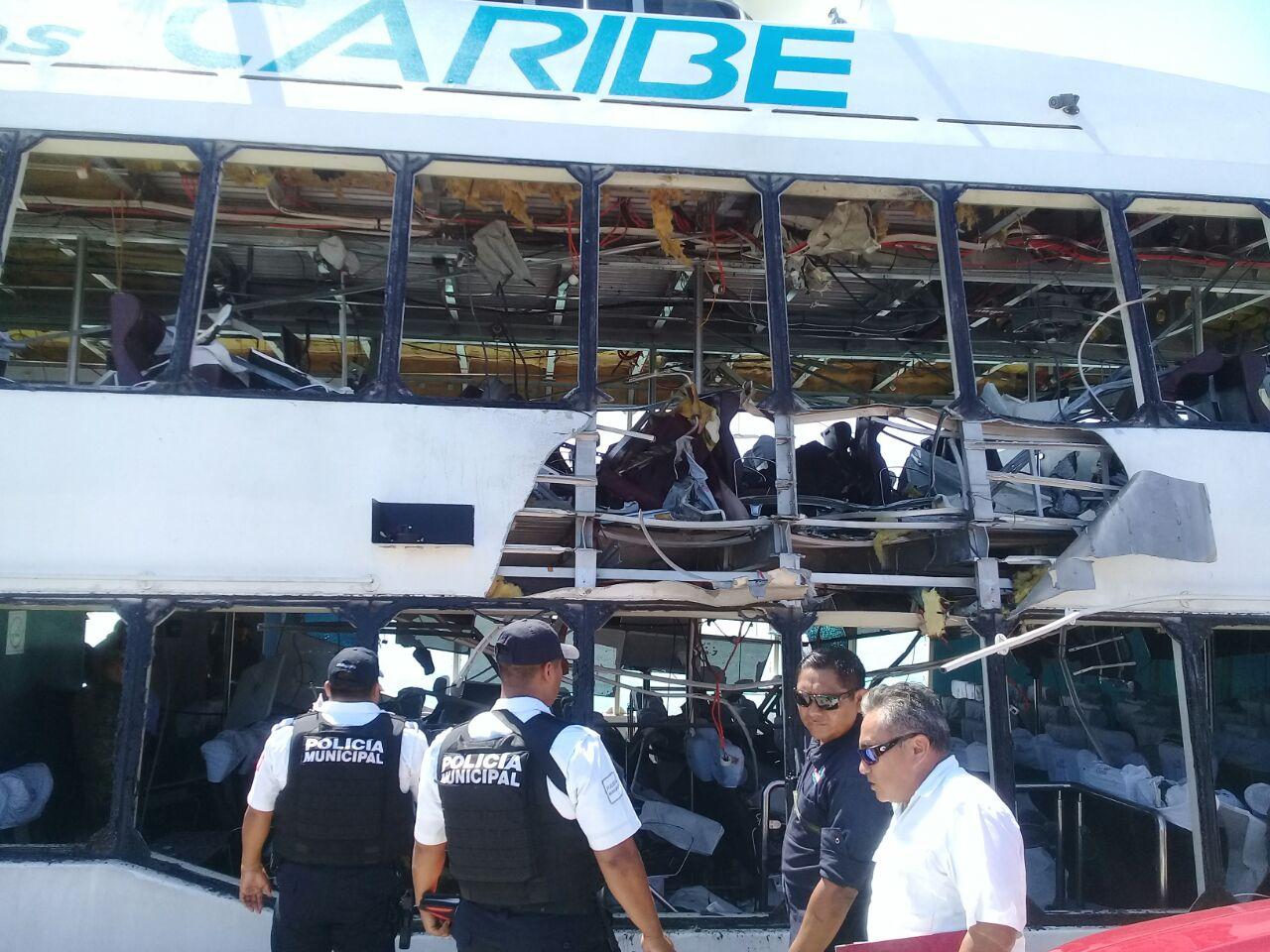 URGENTE @SCT_mx suspende permisos a Barcos Caribe II y III