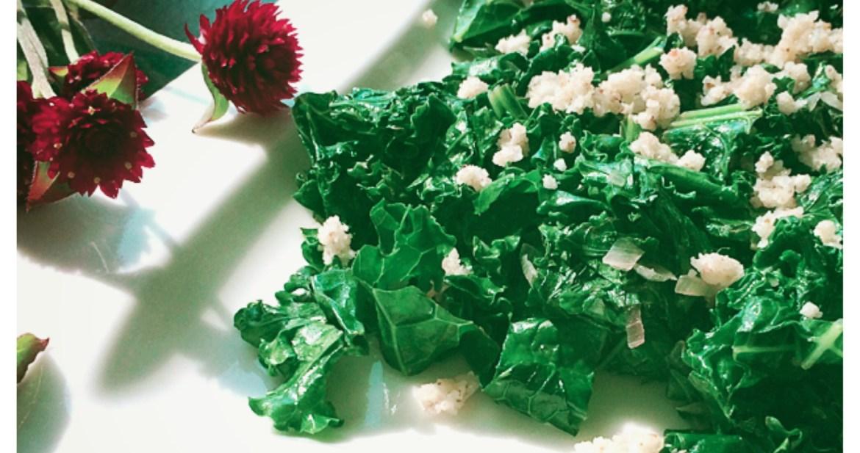 kale and paleo parm