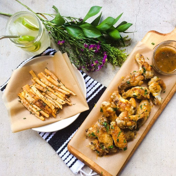 RECIPE: Citrus Glazed Chicken Wings   Paleo, Whole30   by Candace Kennedy