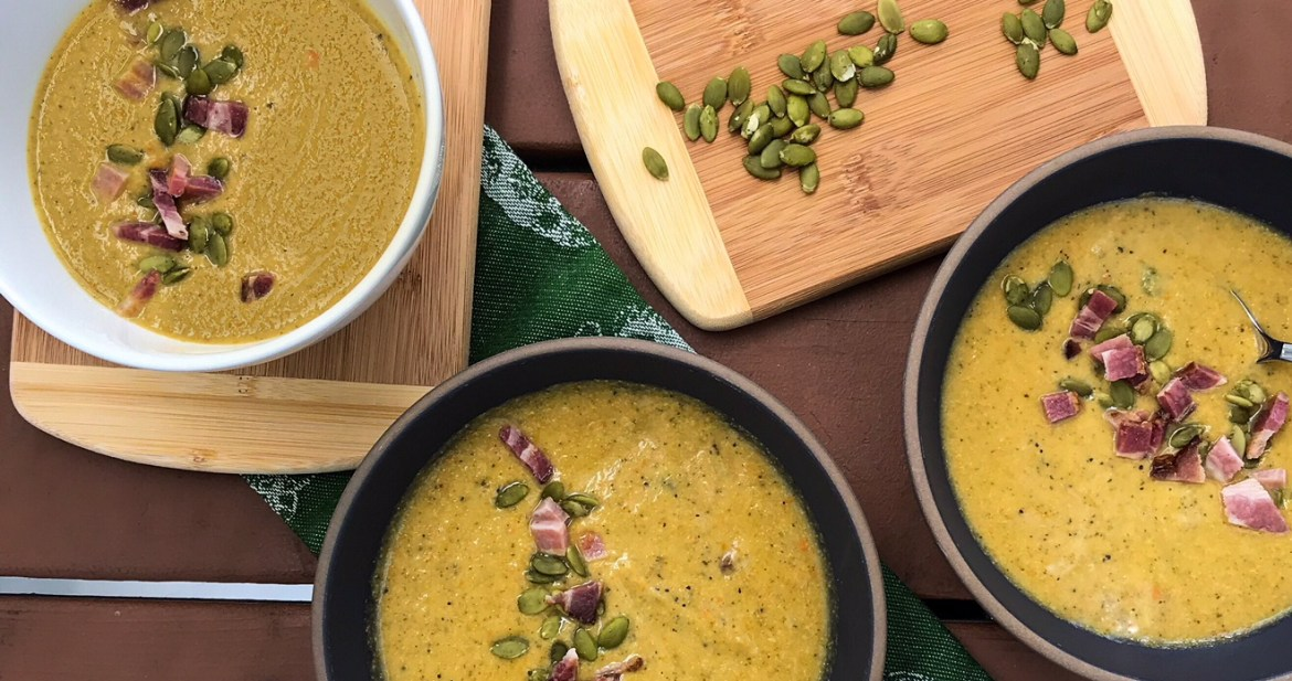 Slow Cooker Cream of Broccoli Soup | Paleo, Whole30, Low-Carb | The Real Food Effect by Candace Kennedy, Certified Nutritionist