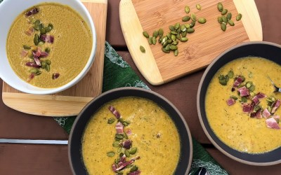 Slow Cooker Cream of Broccoli Soup | Paleo, Low-carb, Whole30
