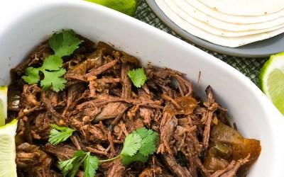 Slow Cooker Cowboy Brisket Tacos | Paleo, Low-carb