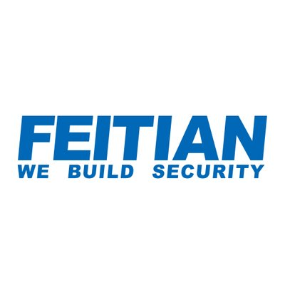 feitian logo u2f security key