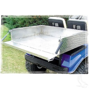 golf cart accessories - tailgate bed