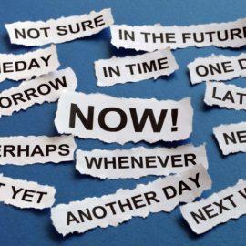 Paralyzing Procrastination