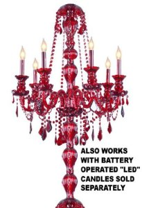 Chandelier Lighting Crystal red Chandeliers