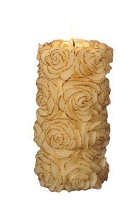 Gold Rose candles
