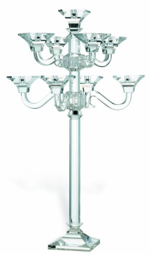 Crystal 9 Arm Grand Candelabra