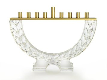 Waterford Crystal Menorah