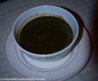 The delicious Callaloo soup - a personal favorite