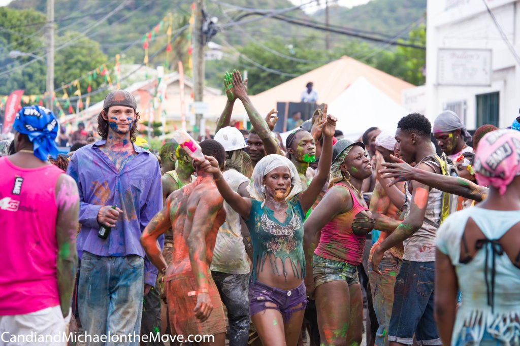 J'ouvert Morning - pounding music, paint, dancing and fun!
