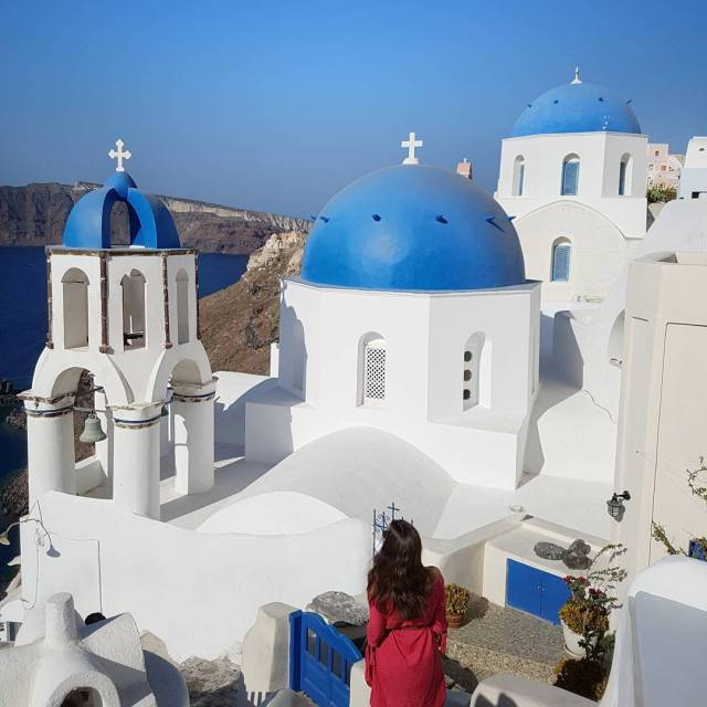 Happy Friday!    greece santorini oia