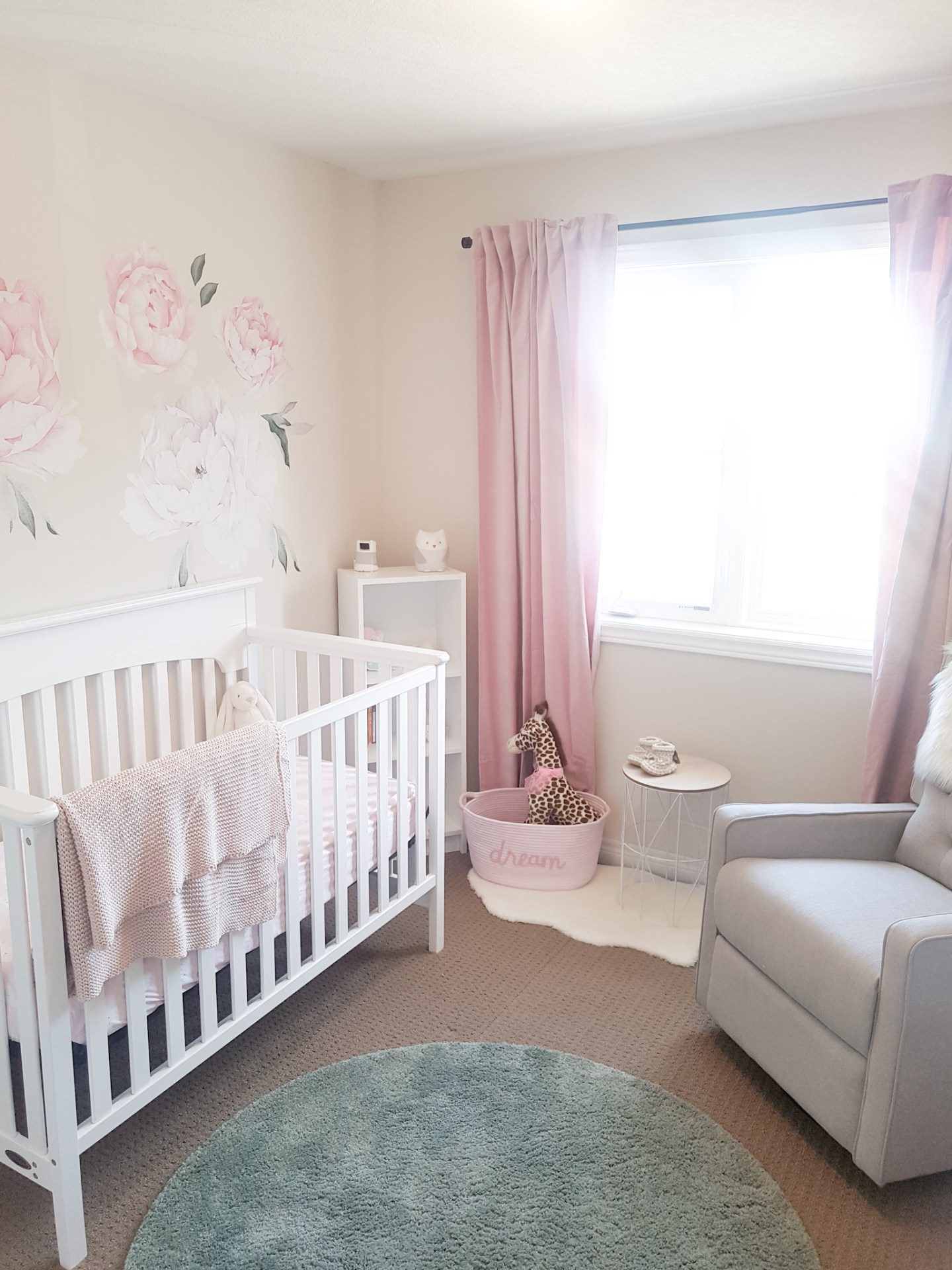 Baby Girl Nursery Room Tour + Nursery Essentials - CANDICE ...