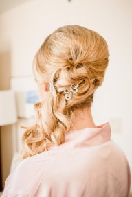 Bridal Hair in association with Mink