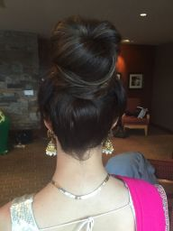 Bridesmaid hair in association with Faye Smith