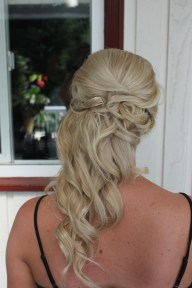 Bridesmaid hair in association with Prep