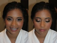 Bridesmaids makeup in association with Faye Smith