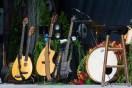 Die britische Mittelalter-Folk-Rockband Blackmore's Night auf der Parkbühne im Clara Zetkin Park Leipzig. Gründer sind der Deep Purple Gitarrist Ritchie Blackmore und dessen Ehefrau Candice Night. Leipzig war das letzte Konzert ihrer All in our Yesterdays Tour.