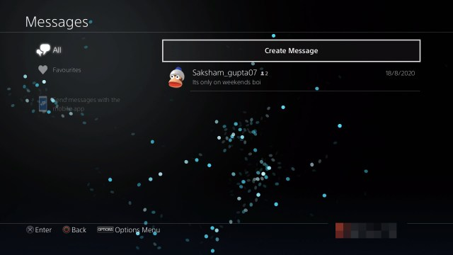 How to delete PS23 messages?  Candid.Technology