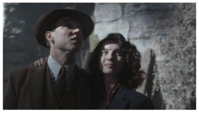 Tobias Menzies & Caitriona Balfe as Frank & Claire Randall