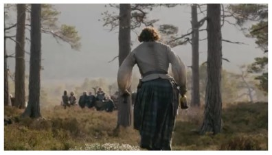 Sam Heughan as James Fraser