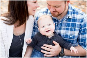 Parents with Smiling Baby