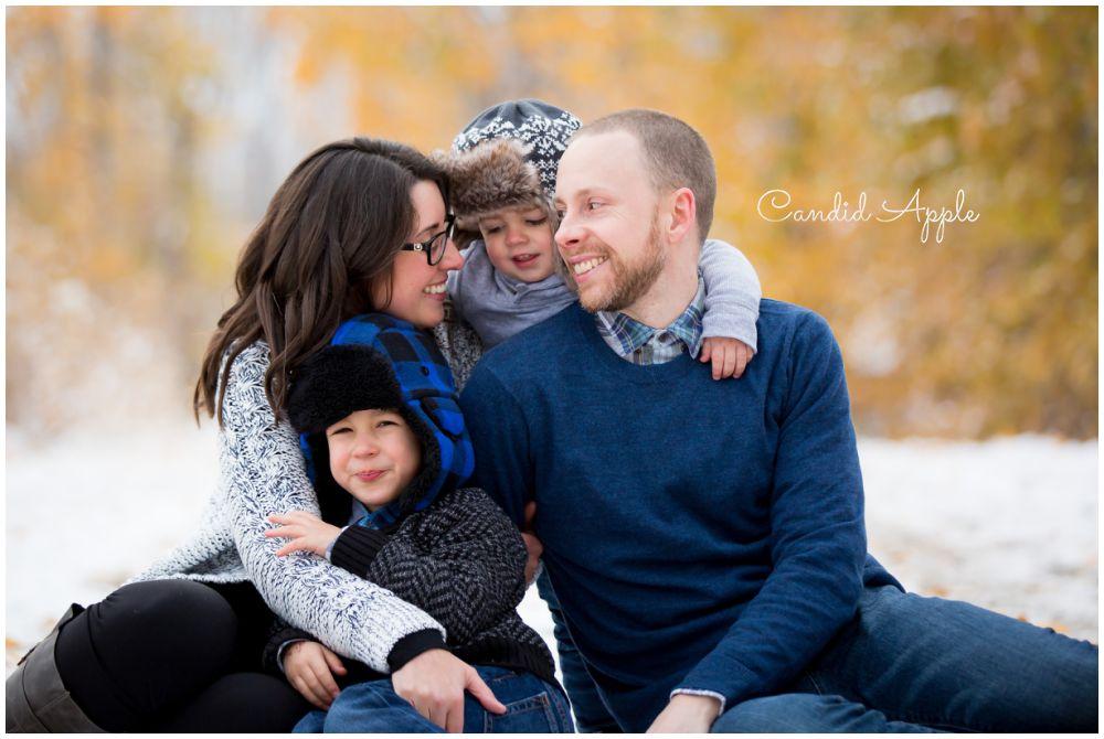 The Baker Family   Celebrate Fall