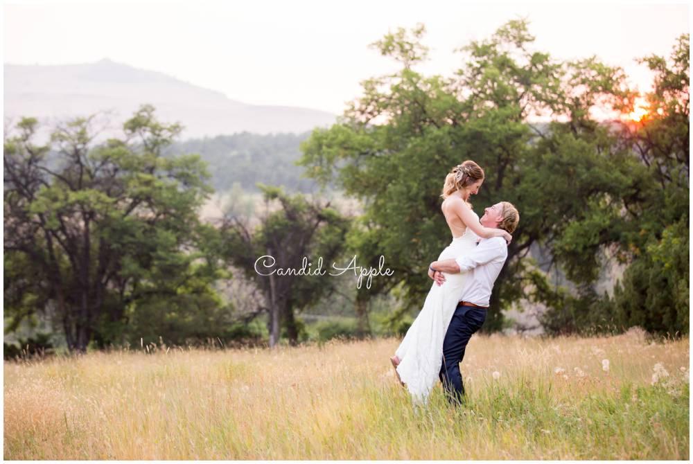Allie & Steve | Vernon Backyard Wedding