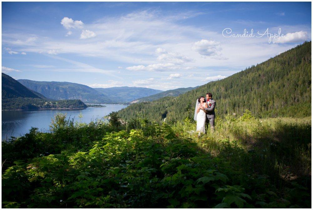 Brian & Chantelle | Sicamous Wedding