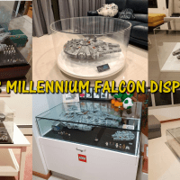Display ideas for LEGO 75192 - UCS Millennium Falcon