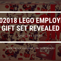 2018 LEGO Employee Christmas gift – 4002018 revealed
